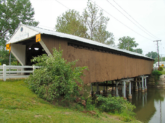 11-78 Newton Falls Covered Bridge