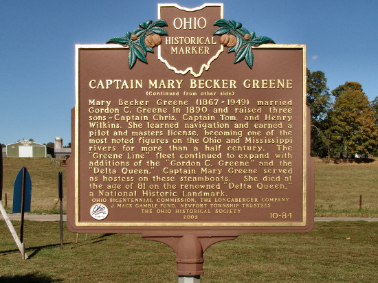 10-84 Captain Mary Becker Greene