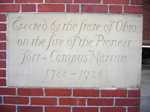 11-84 Cornerstone at Campus Martius Museum