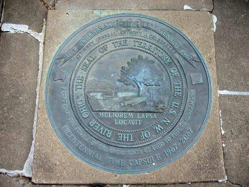 11-84 Northwest Ordinance Bicentennial Seal
