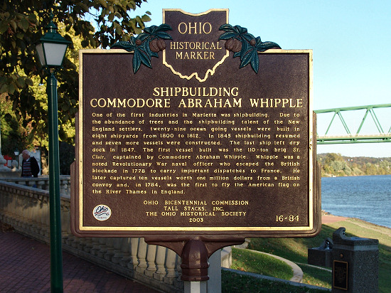 16-84 Shipbuilding, Commodore Abraham Whipple