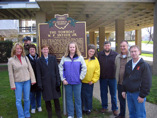 19-84 Think History Teachers at the Ohio River Museum