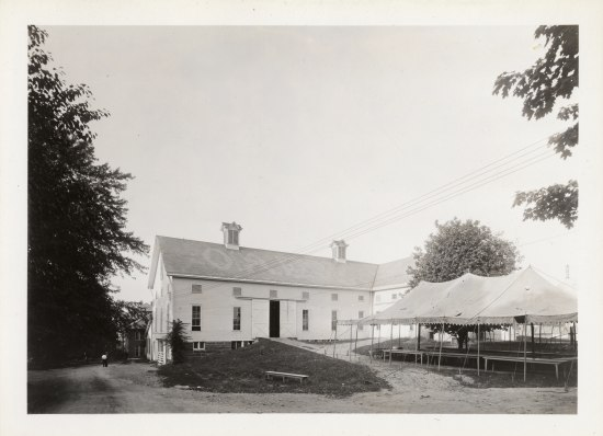 3-85 Ohio Agricultural Experiment Station; Main Dairy Barn