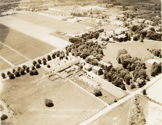 3-85 Ohio Agricultural Experiment Station; Aerial View