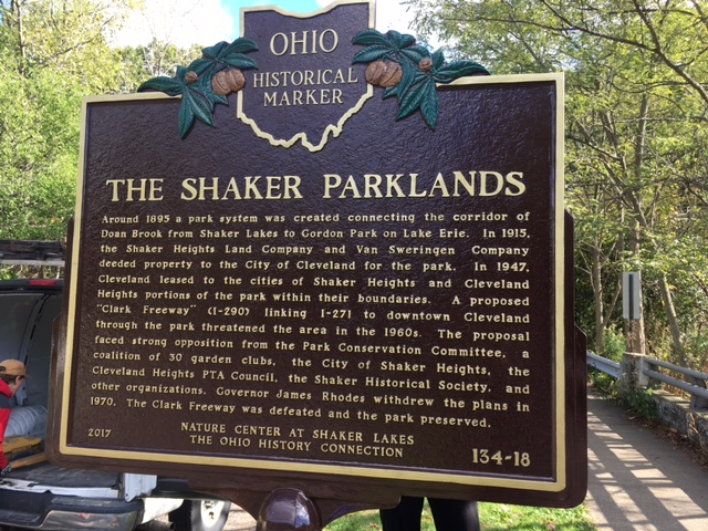 Marker 134-18 The Shaker Parklands